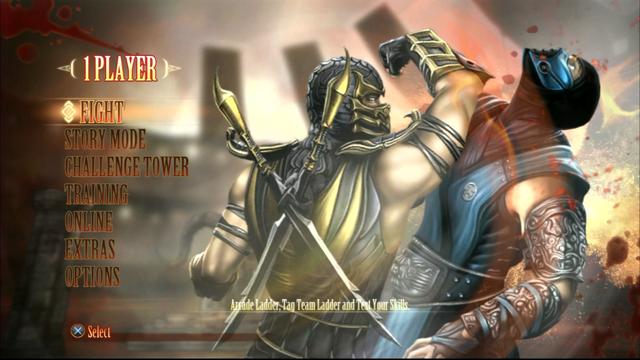 File:Mortal Kombat 9 main menu.png