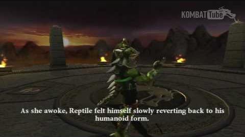 MK-Armageddon Ending- Reptile