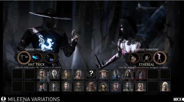 File:Character Selection - Mileena vs Kung Lao.png