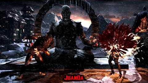 Mortal Kombat X Lin Kuei Temple Stage Brutality