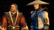 Raiden & Shang Tsung