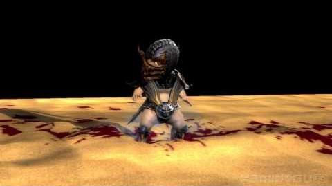 HD Mortal Kombat (2011) Scorpion's Babality