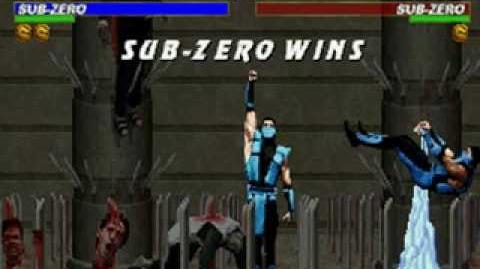 Mortal Kombat Trilogy - Fatality 1 - Classic Sub-Zero