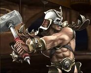 Shao kahn loading screen