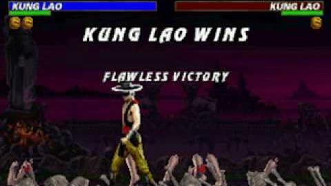 Mortal Kombat Trilogy - Brutality - Kung Lao