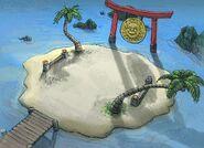 Good Yin Yang Island concept art