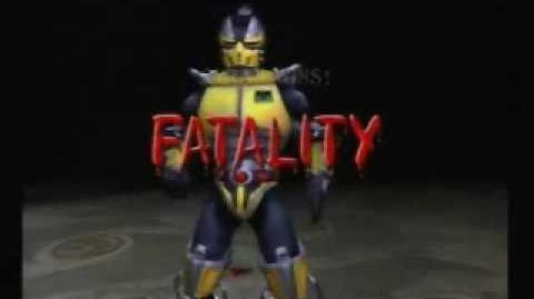 Mortal Kombat Deadly Alliance Cyrax Fatality