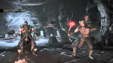 MKX Kung Jin Pinned Down Fatality