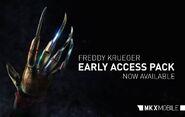 Mkx Freddy Krueger hand