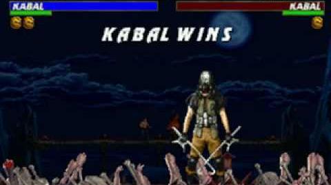 Mortal Kombat Trilogy - Brutality - Kabal