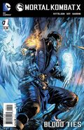 Mortal Kombat X 1 Print Cover B