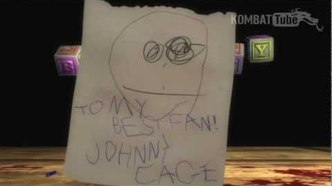 MK9 Johnny Cage Babality