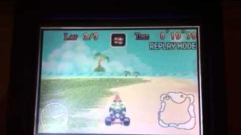 "MK Super Circuit WR 0'44""86 Shy Guy Beach"