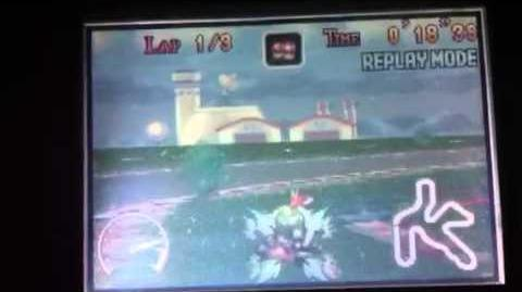 """MK Super Circuit WR 1'01""""05 Luigi Circuit"""