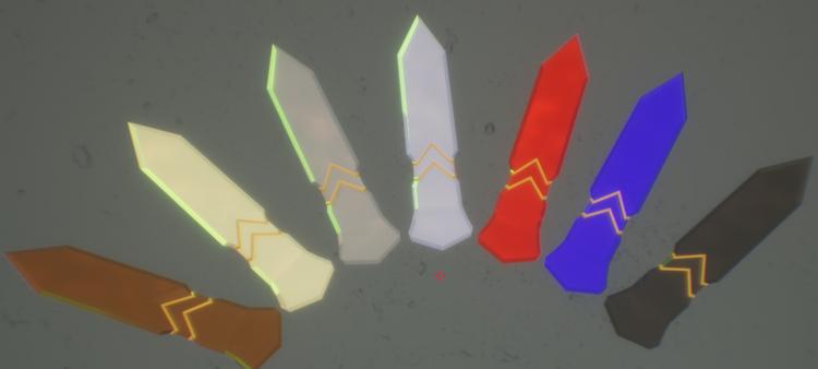 All metal blades