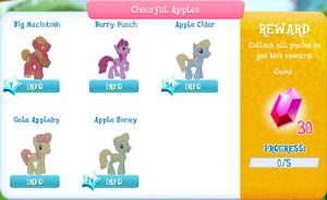 Cheerful Apples