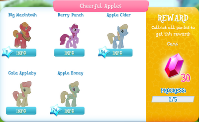 Cheerful Apples