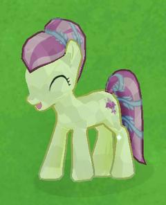 Cream Crystal Pony image