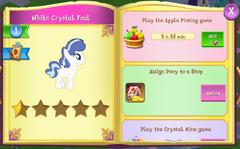 White Crystal Foal album