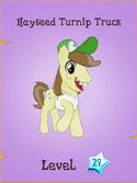 Hayseed Turnip Truck locked