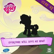 Sunset Shimmer clue 2