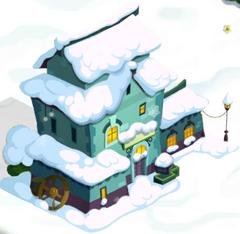 Curio Shop in Snow