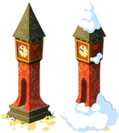 Large Clock Tower