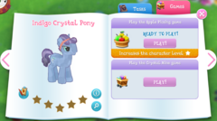 Indigo Crystal Pony album