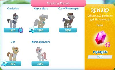 Working Ponies