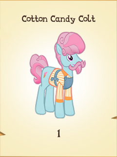 Cotton Candy Colt Inventory