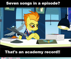 FANMADE Academy Record - seven songs in an episode