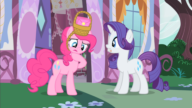 File:Pinkie Pie 'Everypony keeps saying that' S1E25.png