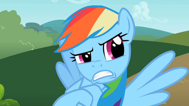 File:Rainbow Dash yeah right! S2E8.png