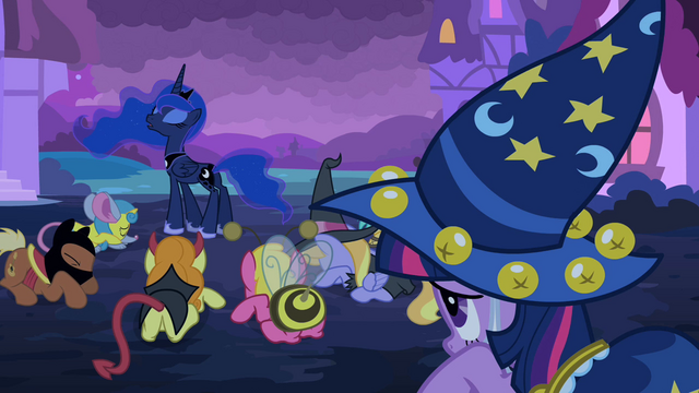 File:The ponies bow down before Princess Luna S2E04.png