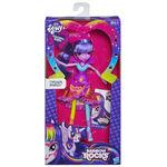 Twilight Sparkle Equestria Girls Rainbow Rocks neon doll packaging