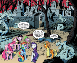 Comic issue 18 Alternate Equestria
