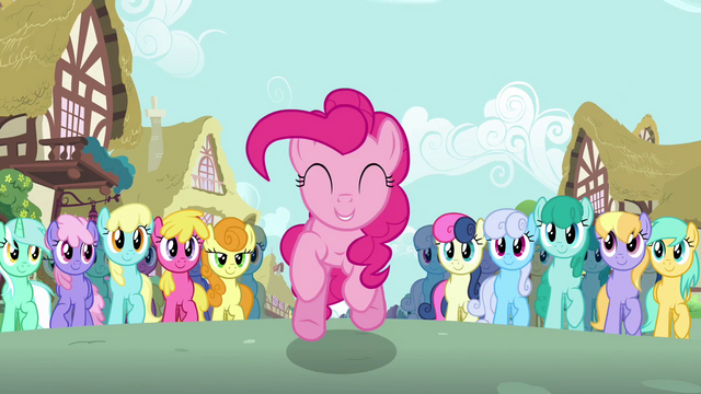 File:Pinkie Pie leaping crowd S2E18.png