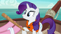 Pinkie offers pinata stick to Rarity in Rarity's story S6E22.png