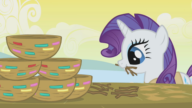 File:Rarity making a stack of nests S1E11.png