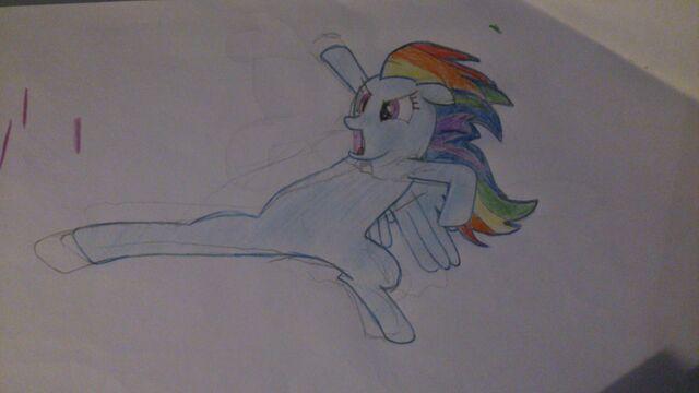 File:FANMADE Rainbow Dash flying kick.jpg