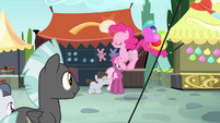 Pinkie bouncing S4E23
