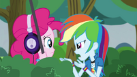Rainbow Dash gets angry at Pinkie Pie EG3