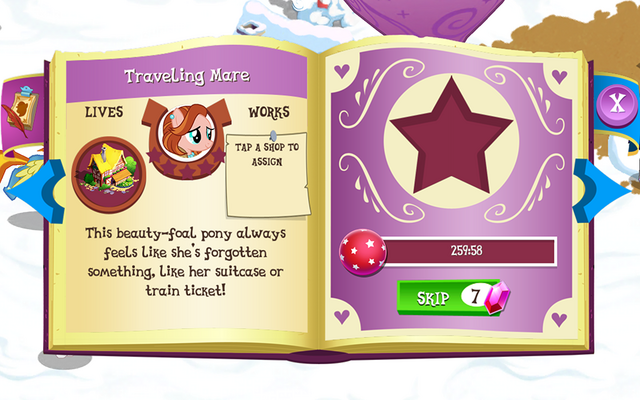 File:Traveling Mare album page MLP mobile game.png