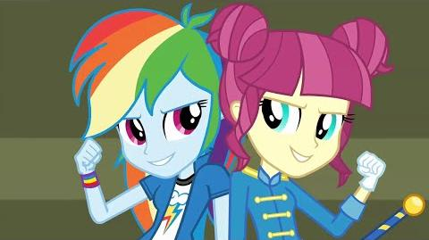 CHS Rally Song (Arabic version) - MLP Equestria Girls Friendship Games