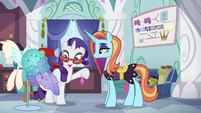 "Rarity ""these gems just spoke to me"" S5E14"