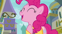"Pinkie Pie singing ""trust your heart"" S6E12"