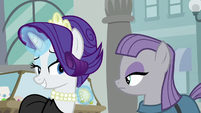 "Rarity ""I know you're a big fan of rocks"" S6E3"