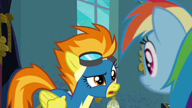 """File:Spitfire """"we've got a show in two days"""" S6E7.png"""