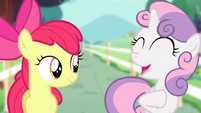"Sweetie Belle ""unicorns like me"" S4E05"