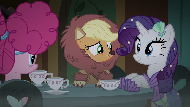File:Applejack and Rarity sit at the table S5E21.png